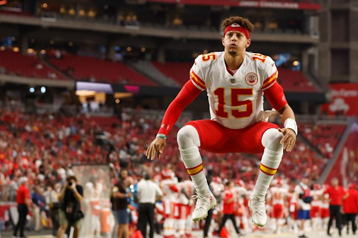 The Chiefs likely won't have to jump through hoops to field a winning team despite QB Patrick Mahomes' increased salaries over the next several years. (Photo by Christian Petersen/Getty Images)