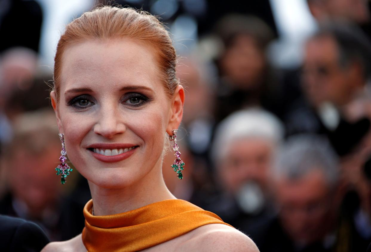 "Jessica Chastain has been one of the most outspoken critics of Weinstein and of Hollywood's complicity since The New York Times published its damning report.<br><br>""I was warned from the beginning"" about Weinstein, <a href=""https://twitter.com/jes_chastain/status/917504541708443650"" rel=""nofollow noopener"" target=""_blank"" data-ylk=""slk:she said in a tweet."" class=""link rapid-noclick-resp"">she said in a tweet. </a>""The stories were everywhere. To deny that is to create an environment for it to happen again."""