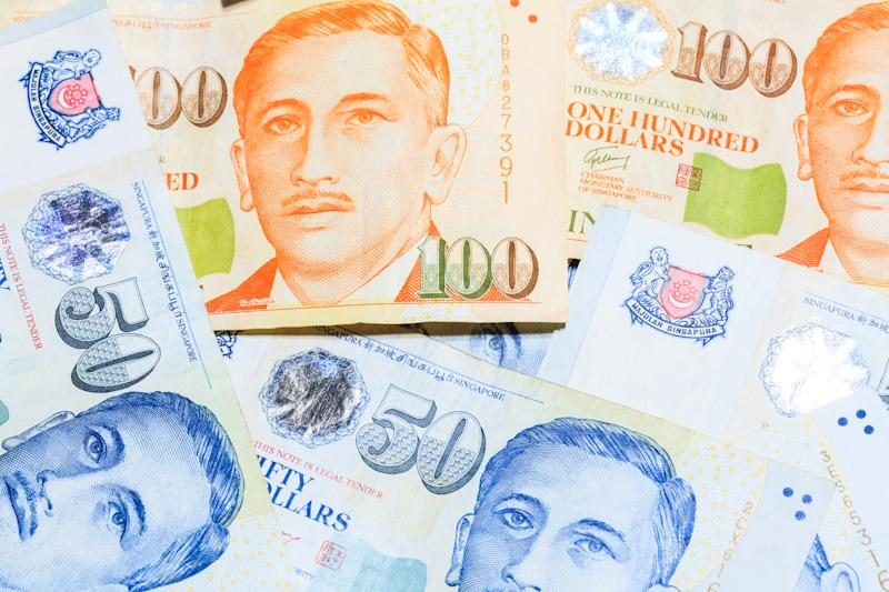 Singapore Dollars Note. PHOTO: Getty Images