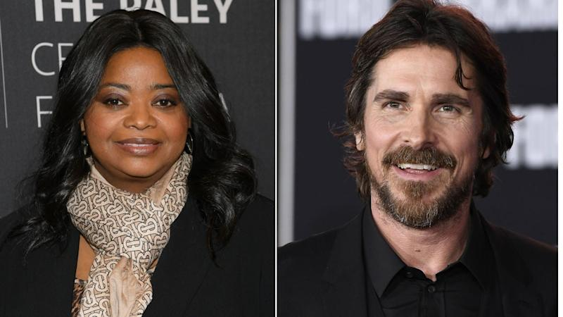 Octavia Spencer and Christian Bale Not Attending Due to Illness — Golden Globes