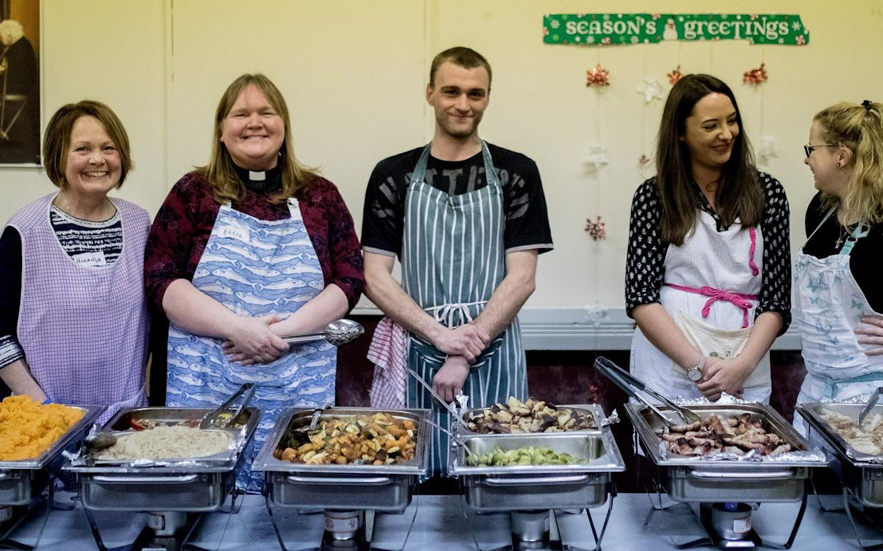 Homeless and hungry: how surplus food is transformed into nourishment – and respect – this Christmas