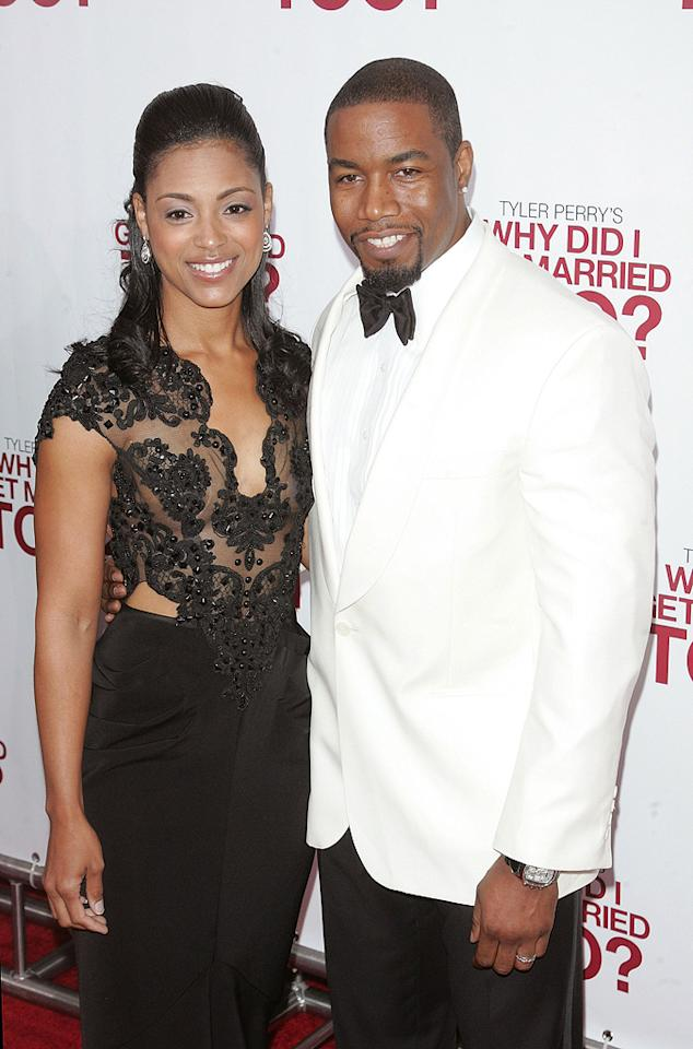 "<a href=""http://movies.yahoo.com/movie/contributor/1800019096"">Michael Jai White</a> and guest at the New York City premiere of <a href=""http://movies.yahoo.com/movie/1810073266/info"">Tyler Perry's Why Did I Get Married Too?</a> - 03/22/2010"