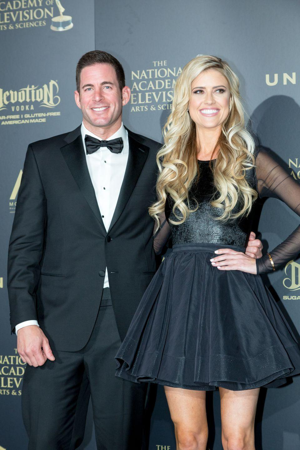 <p>El Moussa and Anstead are a dynamic duo on their home makeover show,<em> Flip or Flop—</em>even after their 2018 divorce. After separating privately in May 2016, the couple publicly announced their split later that year in December but continue to film their show together.</p>