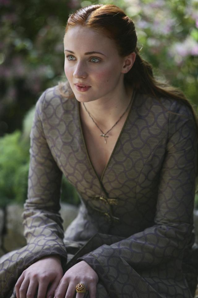 Sansa Stark (Sophie Turner) may finally be free from her loveless engagement to King Joffrey, but relying on Petyr Baelish (Aidan Gillen) for help might not be a much better solution.