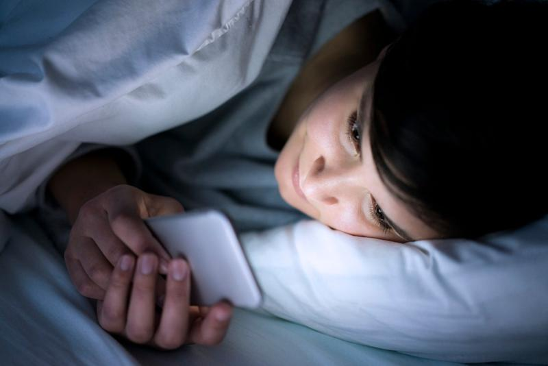 Going on social media before you go to bed can negatively affect the quality of your sleepGetty Images