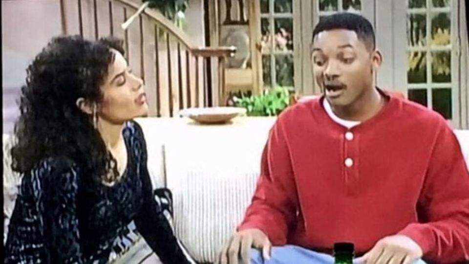 Galyn Gorg appears opposite Will Smith in Fresh Prince