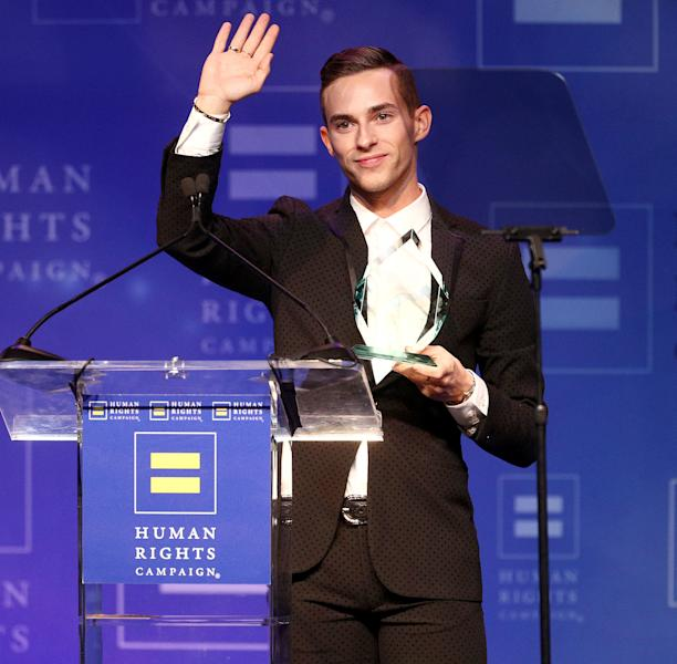 Adam Rippon Finally Meets Sally Field's Son After Matchmaking Attempt