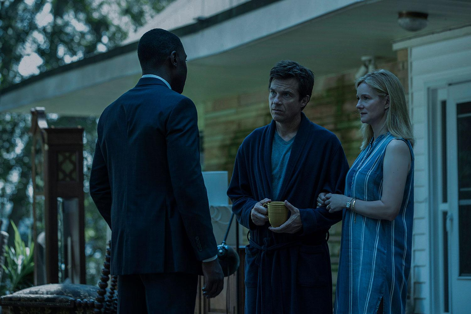 FBI Agent Evans pursues Jason Bateman and Laura Linney's seemingly normal family to the Ozarks (Netflix)