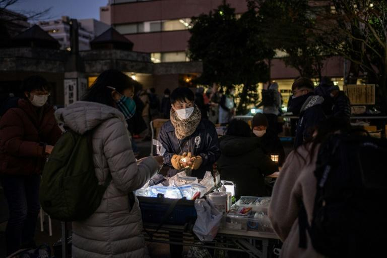 Campaigners say the most vulnerable in Japan have been hit hard by the pandemic