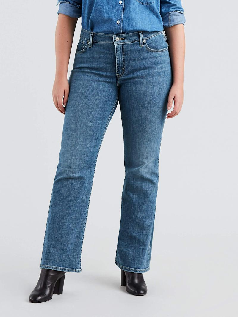 Levi's Women's Plus 415 Classic Bootcut Jeans. (Photo: Walmart)