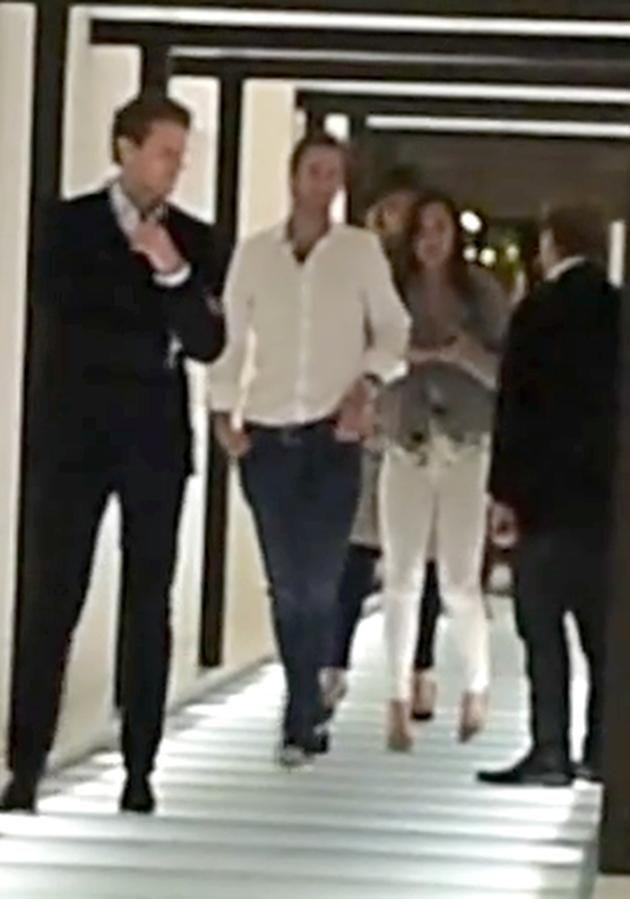 The pair were pictured in June leaving a club in London. Image: Splash