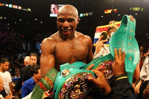 Mayweather used his superior hand speed and solid defence to win the fight against Cotto
