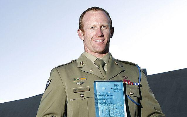 Mark Donalson VC is an Australian soldier and a recipient of the Victoria Cross for Australia. Source: Getty.