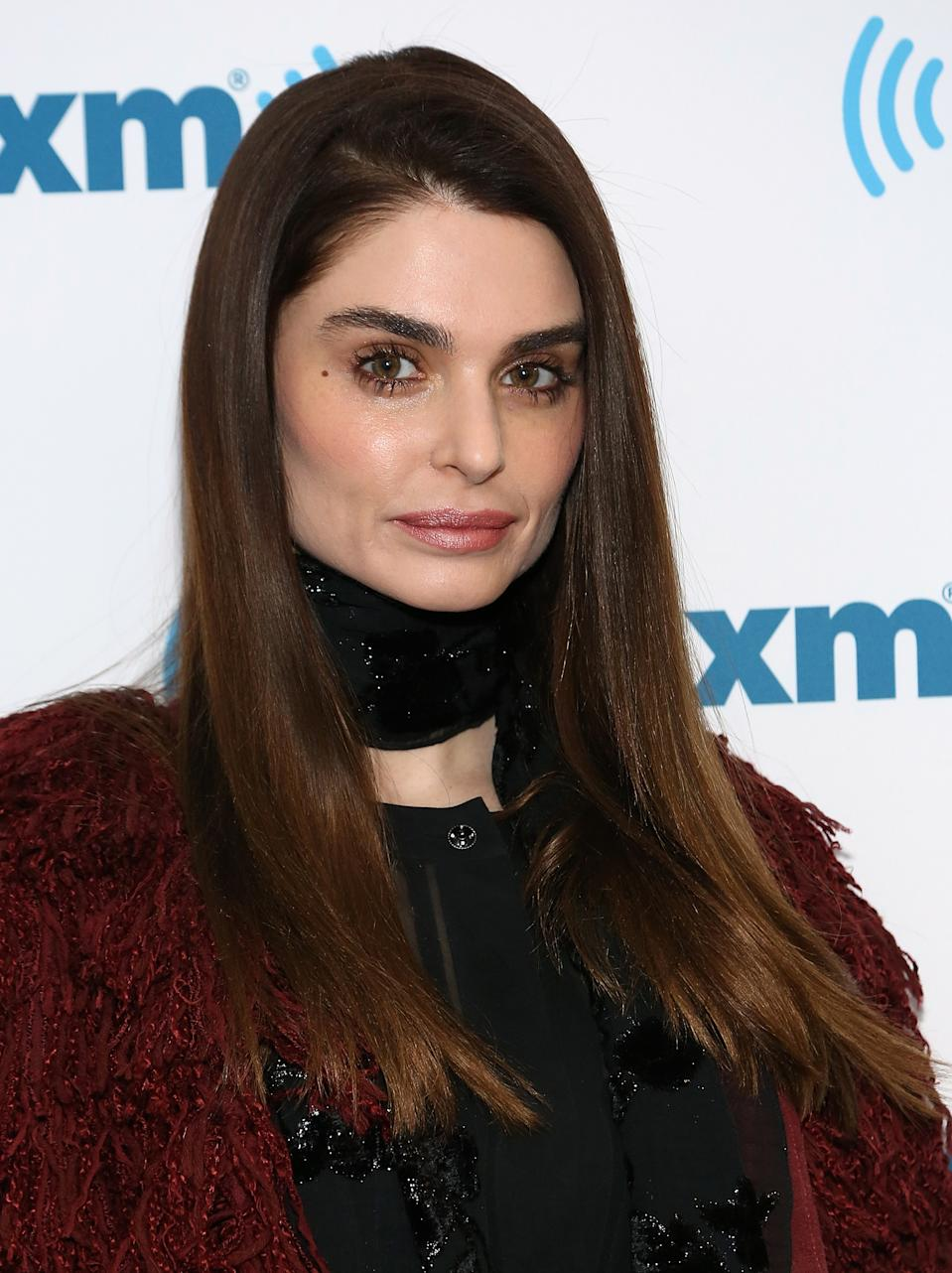 NEW YORK, NY - APRIL 02: (EXCLUSIVE COVERAGE) Aimee Osbourne visits SiriusXM Studios on April 2, 2015 in New York City. (Photo by Monica Schipper/Getty Images)