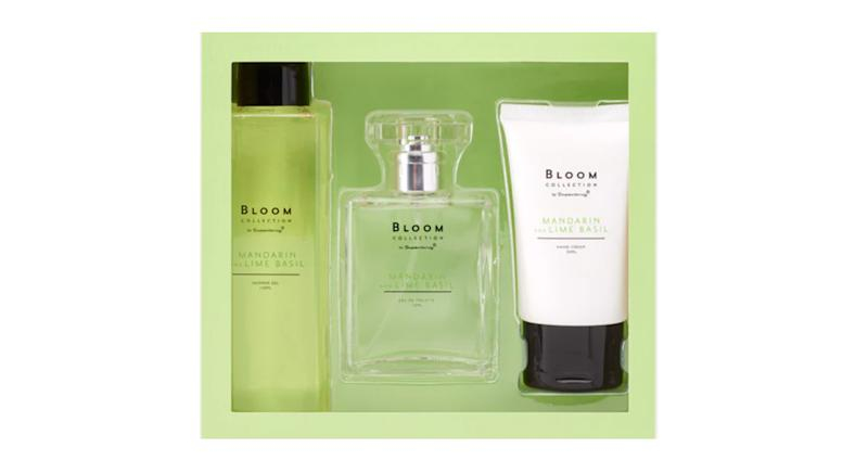 Superdrug Bloom Mandarin & Lime Basil Gift Set