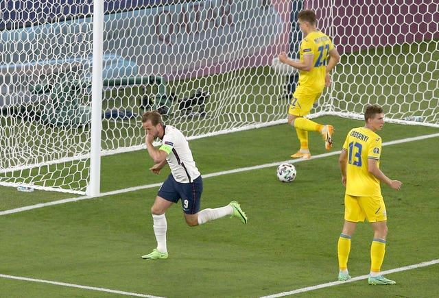 Kane opened the scoring after just four minutes in the win over Ukraine.