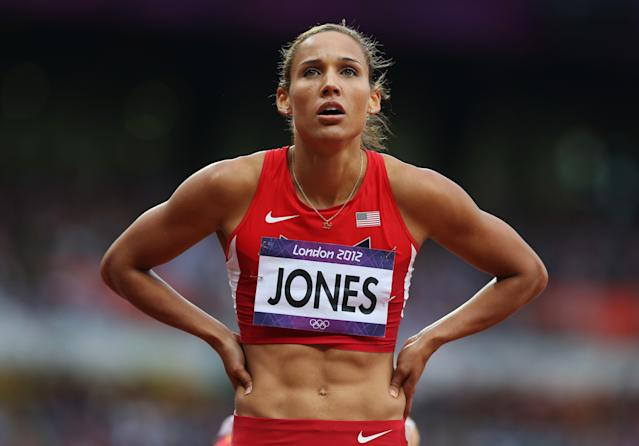 <p>Hurdler Lolo Jones represented the United States at the 2008 Summer Games in Beijing and again four years later at the 2012 London Games. (Getty) </p>