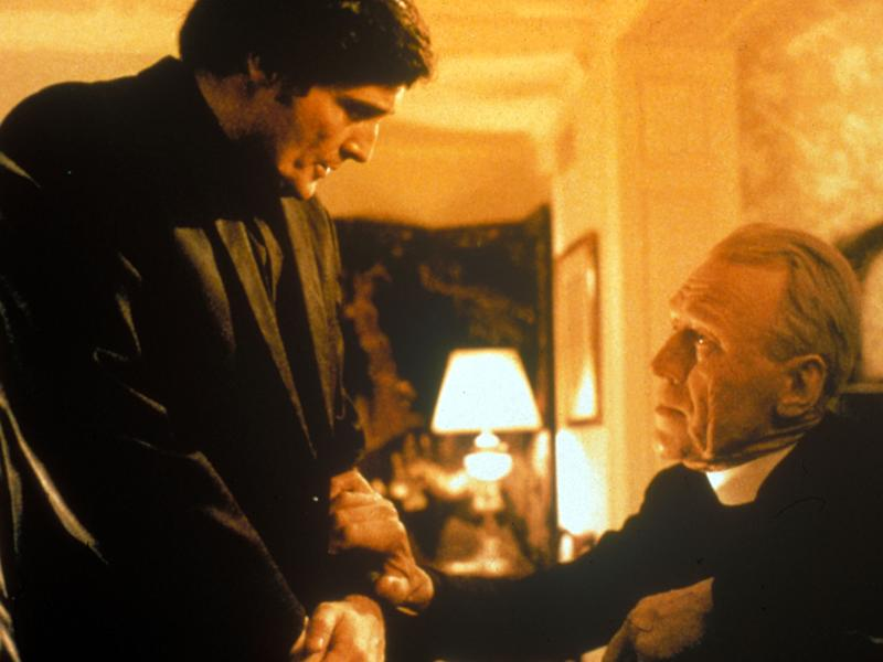 Jason Miller and Max Von Sydow in 'The Exorcist'Rex Features