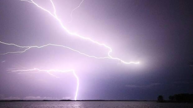 Environment and Climate Change Canada says camping planners should keep an eye on the sky and forecast for extreme weather conditions like lightning storms.