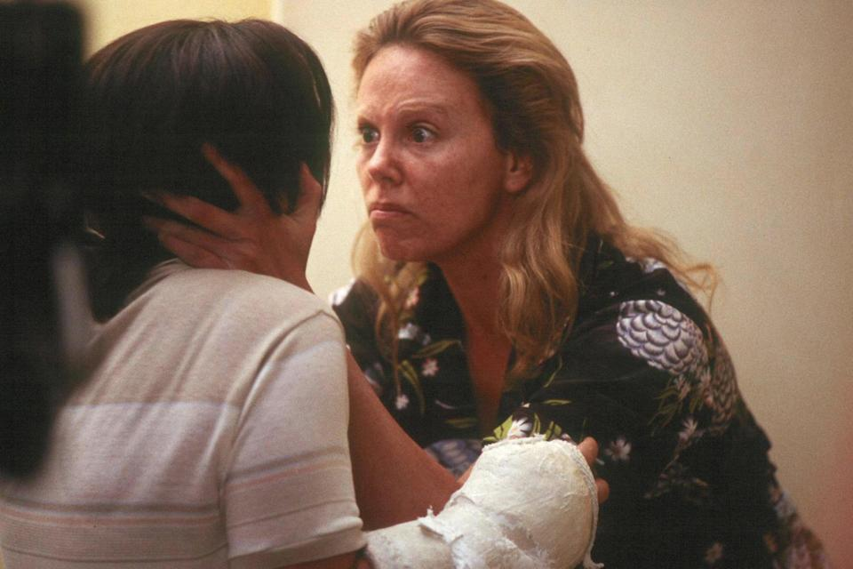 <p>Charlize Theron's monstrously good performance as Aileen Wuornos</p>PA