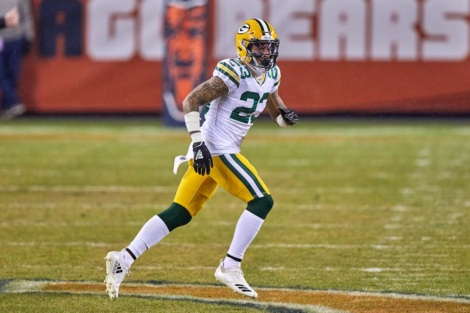 Jaire Alexander with the Packers.