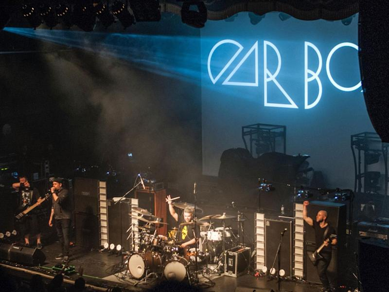 Car Bomb played a spell-binding opening set at the O2 Forum, London (Kevin Scullion)