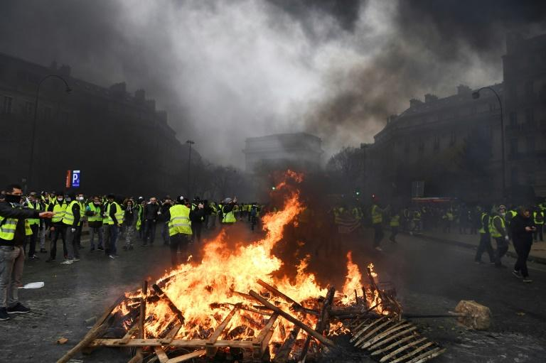 The French capital experienced its worst riots in decades last weekend