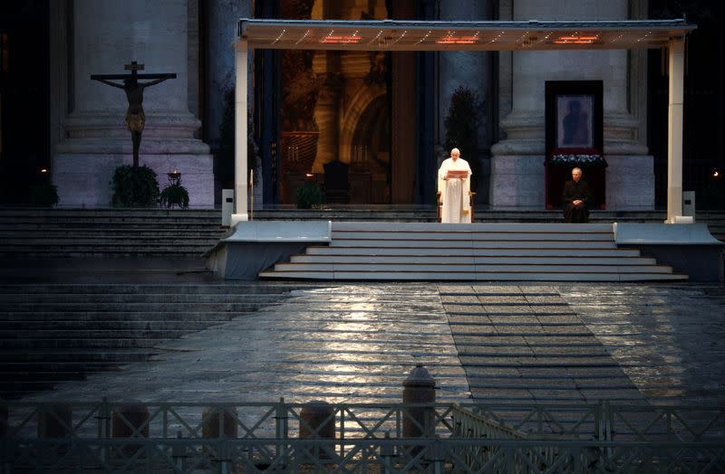Pope and closest aides do not have coronavirus - Vatican