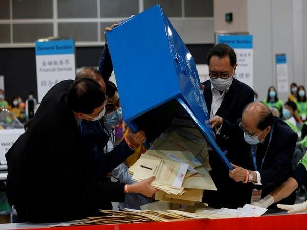 Hong Kong polls close for subsector ordinary elections. (Photo Credit- Reuters)