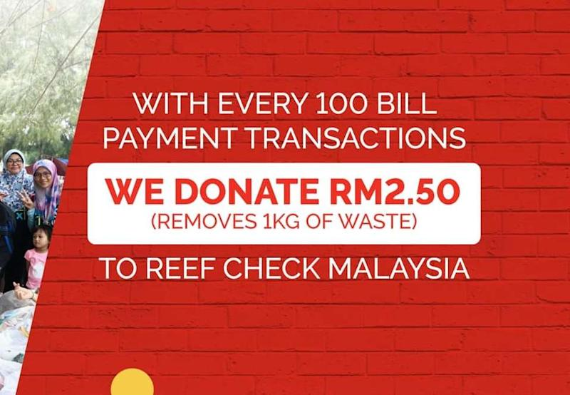 You can do your part too just by using the app as Boost will donate RM2.50 to Reef Check Malaysia when you make bill payments on the app. — Picture via Facebook/Boost
