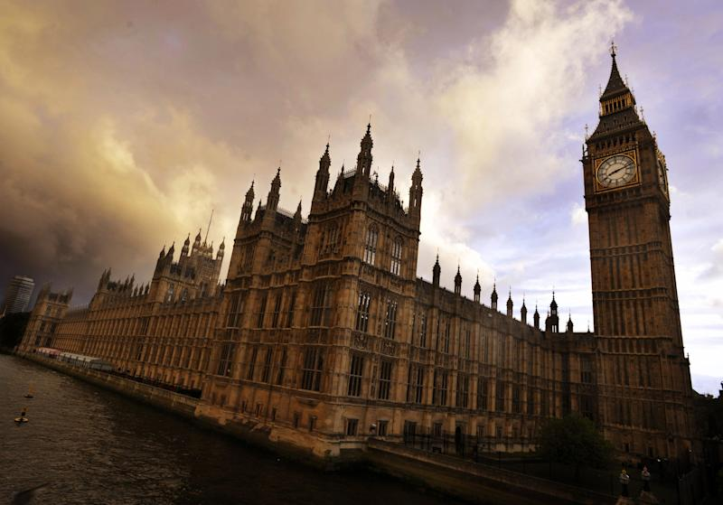 File photo dated 17/5/09 of the Houses of Parliament in London. More than 23 hours of sitting time in the House of Commons has been left unused since the EU warned Britain not to waste time to resolve Brexit.