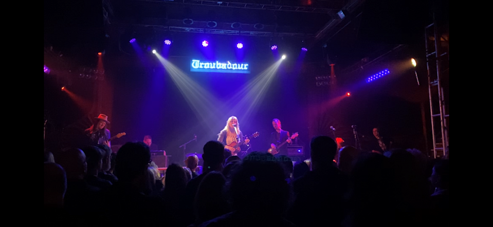 Madison Cunningham performs at the Americana Music Association's Pre-Grammy salute to Willie Nelson at the Troubadour in West Hollywood, Calif., January 25, 2020.