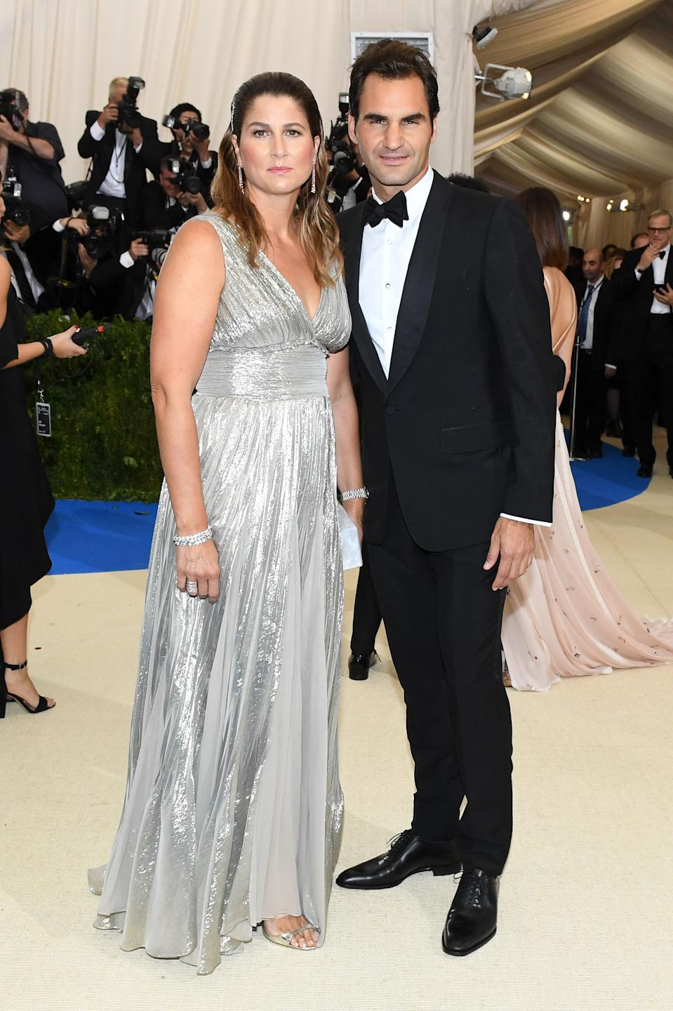 """<h1 class=""""title"""">Mirka Federer and Roger Federer in Gucci</h1><cite class=""""credit"""">Photo: Shutterstock</cite>"""