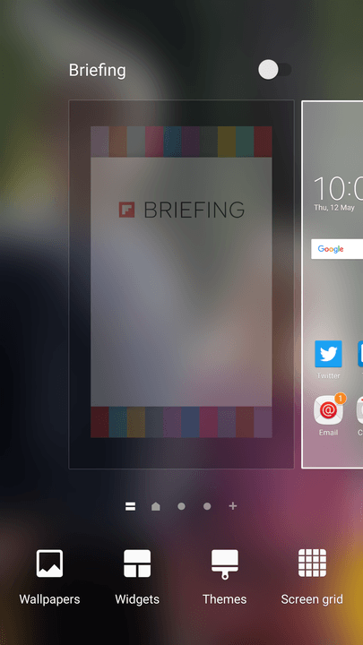 galaxy s tips and tricks home screen