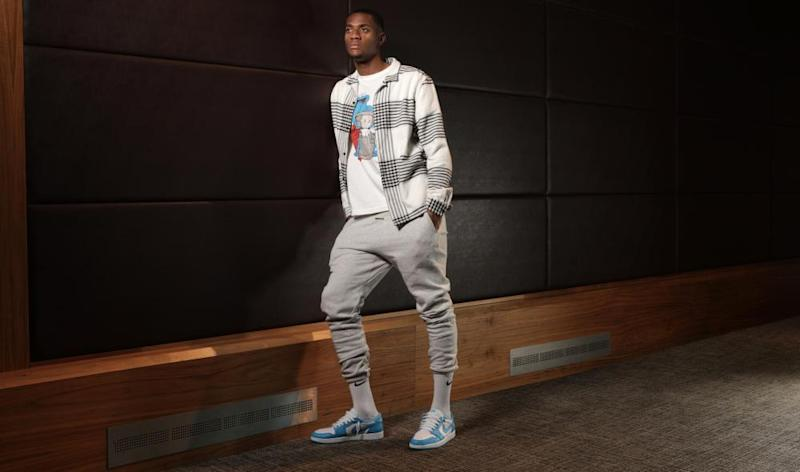 Tosin in a trendy Manchester spot.