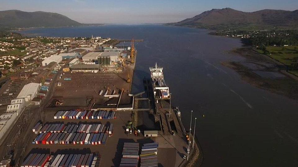 Bahía de Warrenpoint.