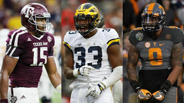 The 2017 NFL Draft is stuffed with defensive end talent — each player on this top 10 ranking for the class is generating first-round interest.