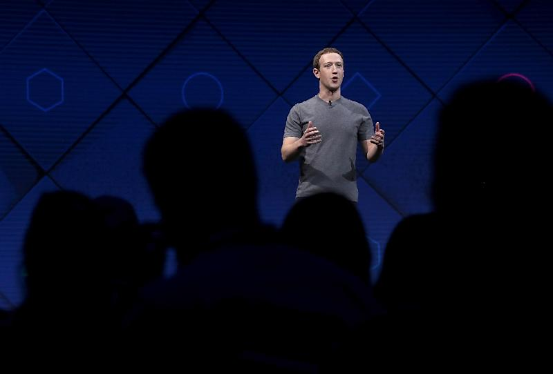 Facebook CEO Mark Zuckerberg's belated apology did little to quell the crisis at the social network, which has called into question the data-driven business model which is the lifeblood of Silicon Valley (AFP Photo/JUSTIN SULLIVAN)