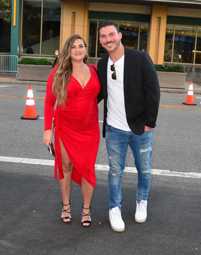 Brittany Cartwright and Jax Taylor attended the Hollywood premiere of