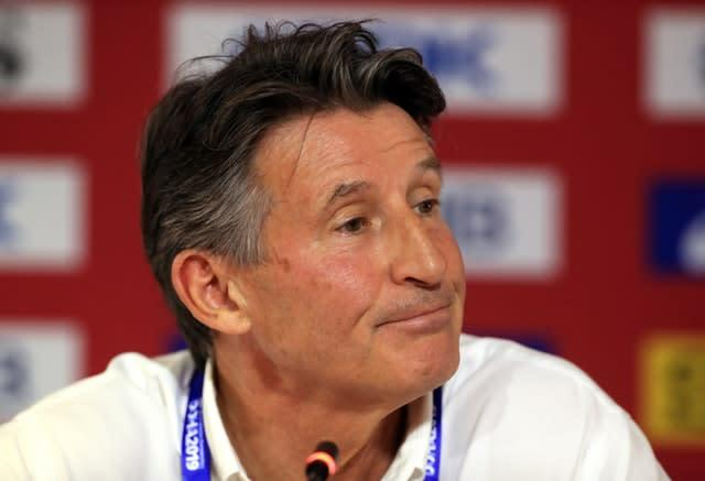 Lord Coe feels Doha 2019 will be viewed as a success despite the lack of crowds (Mike Egerton/PA)