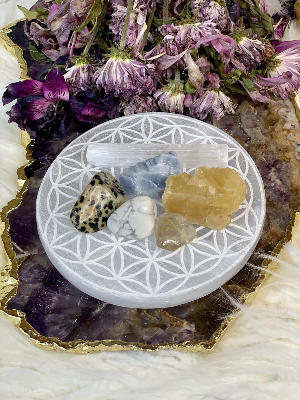 """<p>chakrazulucrystals.com</p><p><strong>$20.00</strong></p><p><a href=""""https://chakrazulucrystals.com/collections/the-zodiac-shop/products/crystals-for-gemini"""" rel=""""nofollow noopener"""" target=""""_blank"""" data-ylk=""""slk:Shop Now"""" class=""""link rapid-noclick-resp"""">Shop Now</a></p><p>Sure, your friend already has a few crystals, but do they have a set of crystals specifically chosen for them based on their zodiac sign???</p>"""