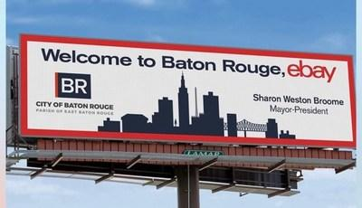 eBay announced the expansion of its economic empowerment program, Retail Revival, to a sixth city - Baton Rouge, Louisiana.