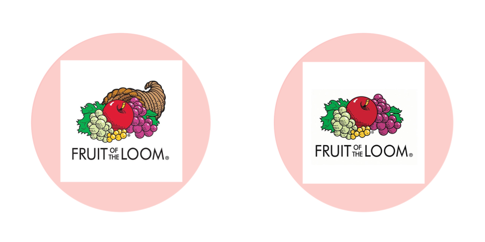 <p>It used to have a cornucopia behind the fruit ... right? Right?!</p>