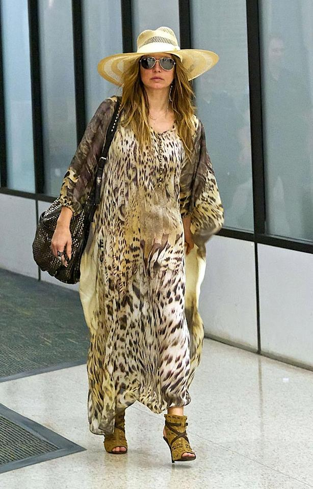 "Fergie's leopard print muumuu ... fierce or foul? Troy Rizzo/<a href=""http://www.gettyimages.com/"" target=""new"">GettyImages.com</a> - September 25, 2010"