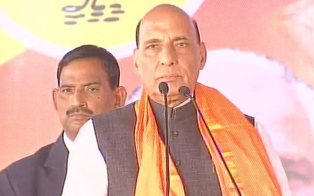 <p>Lashing out at the Congress, Rajnath Singh has said that if the BJP wins Karnataka Assembly election next year, it will ensure justice for Gauri Lankesh and Paresh Mesta. </p>