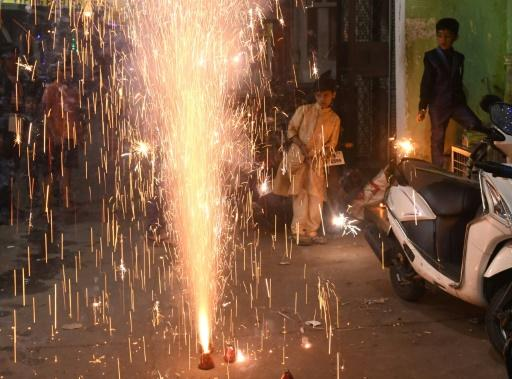 Diwali is the biggest Hindu festival of the year, where firecrackers are traditionally let off