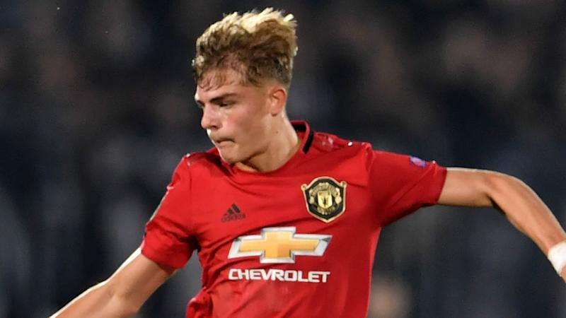 Brandon Williams Manchester United 2019-20