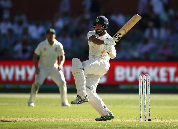 Cheteshwar Pujara scored 123 and 71 in the first Test at Adelaide