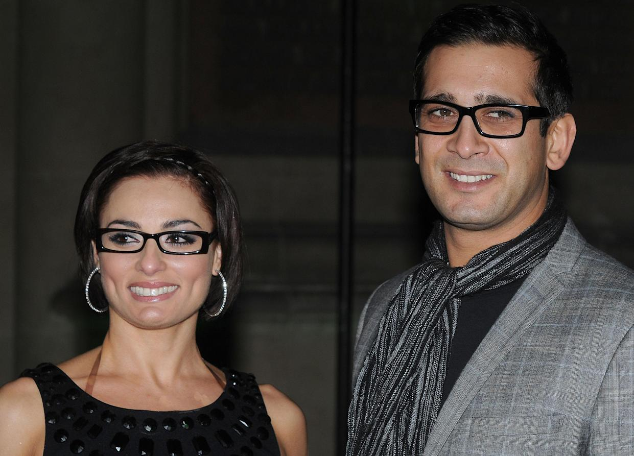 LONDON, UNITED KINGDOM - NOVEMBER 10: Flavia Cacace and Jimi Mistry attend the Spectacle Wearer Of The Year Awards at the V & A Museum on November 10, 2010 in London, England. (Photo by Stuart Wilson/Getty Images)
