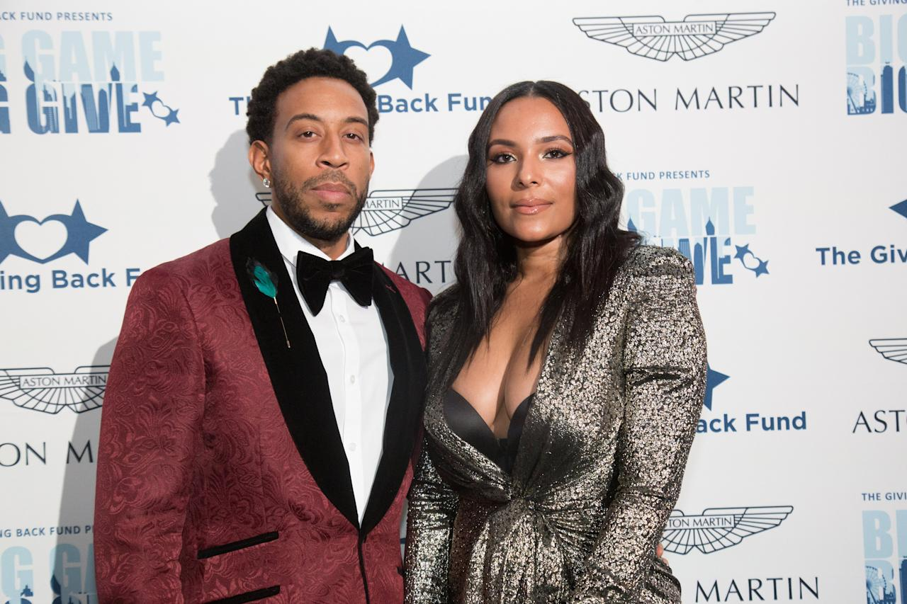 """The pair got <a href=""""https://people.com/celebrity/ludacris-married-to-eudoxie-mbouguiyengue/"""">engaged<em>and</em>married on the same day</a> in December 2014 and welcomed <a href=""""https://people.com/parents/ludacris-welcomes-daughter-cadence-gaelle/"""">their daughter</a>, Cadence, into the world in June 2015. Their marriage started as an adventure — the <em>Furious 7</em> actor proposed on a plane — and the pair <a href=""""https://www.instagram.com/p/B0i9kb6F9I3/"""">loves travelling</a> with their blended family."""